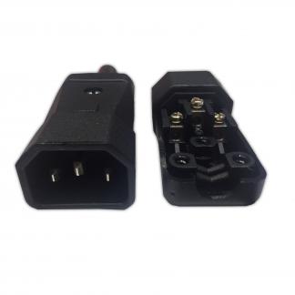 Kaiser 749 IEC C14 10a Male Easy Wire
