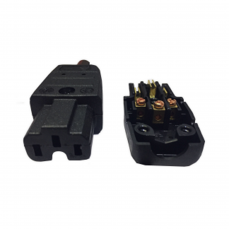 Kaiser 789 IEC C15 10a Super Hot Condition Female 155 deg Easy Wire