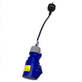 Marten® PAT Test Adapter 13a Plug to 230v 16amp