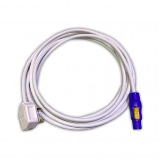 Marten® 13a Duraplug to Neutrik PowerCON NAC3FCA White PVC