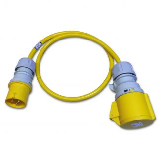 Marten® 110v 16a to 32a 4mm Arctic Yellow