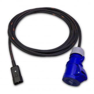 Marten 230v IEC C14 Male to 16a Socket 1mm HO7RN-F