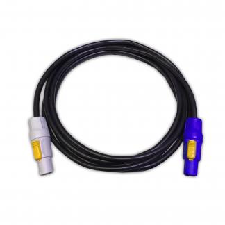 Marten® Neutrik PowerCON NAC3FCB to Neutrik PowerCON NAC3FCA Black PVC